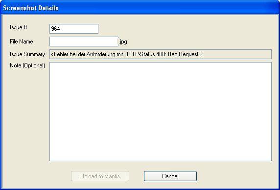 0007053: Mantis Plugin for Cropper (a free screen capture